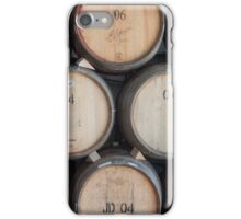 wine barrels iPhone Case/Skin