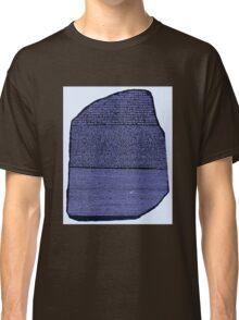 The Rosetta Stone Blue Classic T-Shirt
