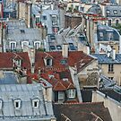 Rooftops of Paris #2 by Murray Swift