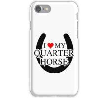 I heart My Quarter Horse iPhone Case/Skin
