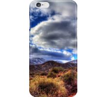 Snow Speckled Hills North of Phoenix iPhone Case/Skin