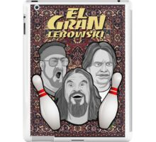 the big lebowski spanish collage iPad Case/Skin