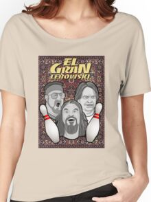 the big lebowski spanish collage Women's Relaxed Fit T-Shirt