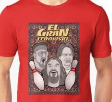 the big lebowski spanish collage Unisex T-Shirt