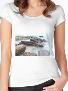 Misty Water Women's Fitted Scoop T-Shirt