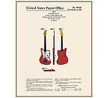 Guitar Patent - Color Photographic Print