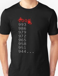 """What's 1000 Minus 7?"" Unisex T-Shirt"