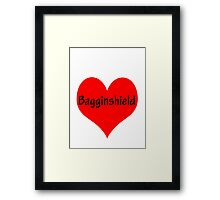 Bagginshield of My Heart Framed Print