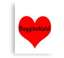 Bagginshield of My Heart Canvas Print