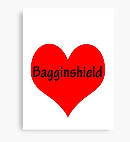 Bagginshield of My Heart Canvas Print