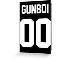 GUNBOI Greeting Card