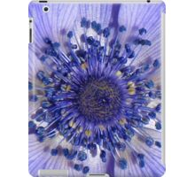 The Heart of a Purple Poppy Anemone iPad Case/Skin