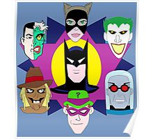"""""""Batman: The Rogues Gallery"""" Part 1 Poster"""