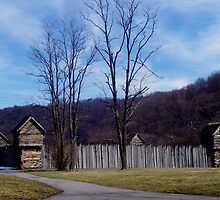 pricketts fort , civil war era by melynda blosser