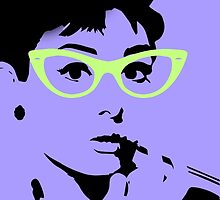 Audrey Hepburn by cocoabeaneater