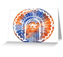 Chief two Greeting Card