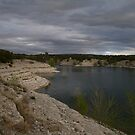 Stormy Sky Over The Lake by lemontree