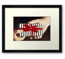 Gift Exchange Framed Print