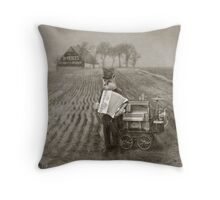 Dr. Pierce, Snakeoil Salesman Throw Pillow