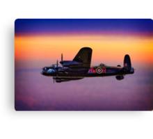 Lancaster At Dawn Canvas Print