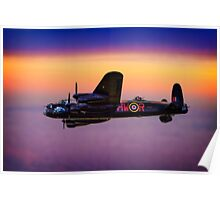Lancaster At Dawn Poster