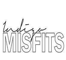 indigo misfits logo phone case iPhone 5s by iNDiGOMiSFiTS