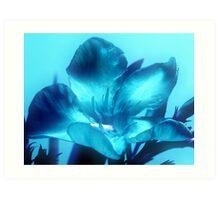 Digital Oleander Art Print