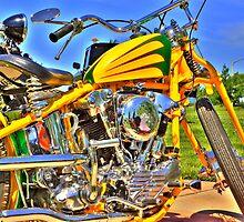 Yellow Chopper by jnisbet
