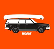 ROAM Volvo Granola Wagon with Canoe by ROAM  Apparel