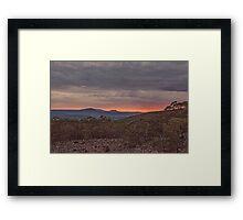 Ben Lomond HDR Framed Print