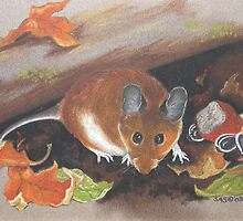 Fall Mouse by artbysas