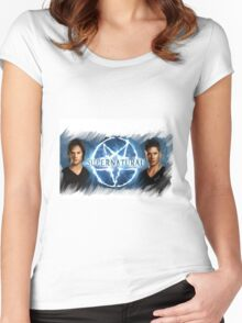supernatural Women's Fitted Scoop T-Shirt