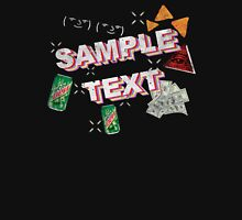 SAMPLE TEXT XXX MLG TRICKSHIRTXxXxX45 Unisex T-Shirt