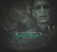 Harry Potter: The Boy Who Lived, Come To Die by DareBearEfron