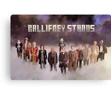 Gallifrey Gang Canvas Print
