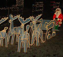 Santa's Coming by Sarah McKoy