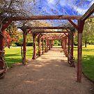 International Peace Garden by Gene Praag