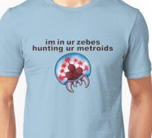 im in ur zebes.... Unisex T-Shirt