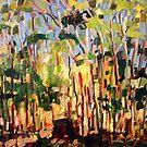 Mt Cootha Bush Scene by Paul  Milburn