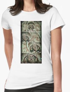 Bronze Angel Womens Fitted T-Shirt