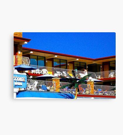 motel 3 Canvas Print