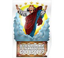 god Usopp One Piece Poster