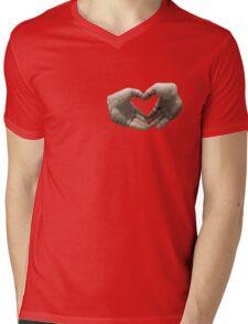 With love... (T-Shirt) Mens V-Neck T-Shirt