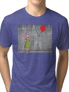 Banksy's Burgers Tri-blend T-Shirt