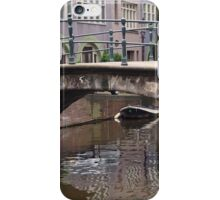 Amsterdam - Canal reflections iPhone Case/Skin