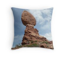 Balanced Rock Throw Pillow