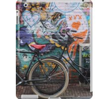 Amsterdam - Wall and wheels iPad Case/Skin