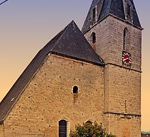 The village church of Kematen a.d. Krems II | architectural photography by Patrick Jobst
