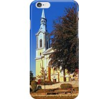 The village church of Niederkappel II | architectural photography iPhone Case/Skin