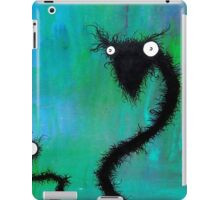 the creatures from the drain painting 2 iPad Case/Skin